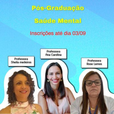 UNIP – Pós-Graduação com 40% de Desconto em Saúde Mental